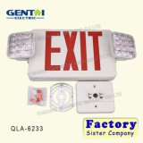 Good Quality Rechargeable Emergency LED Exit Sign Light / Lamp