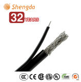 Hot Sale Coaxial Communication Cable RG6 with Messenger