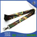 Souvenir Promotional Items Custom Lanyard with Key Chain
