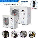Extramely Cold -25c Winter Floor Heating Room + Dhw Auto Defrost 12kw/19kw/35kw/70kw/105kw Evi Air Heat Pump UL Water Heater