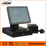 Window 7 Point of Sale POS System with 8 Digital Customer Display