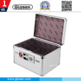 Aluminum Material Silver Color 6 Cells Seal Box with Lock