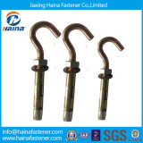 Zinc Plated J /Hook Type Expansion Anchor Bolts, J Bolt