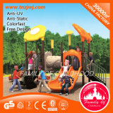 Popular Double Metal Outdoor Playground Equipment Slide