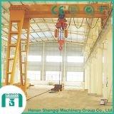 Single Girder Gantry Crane Bmh Type Semi Gantry Crane