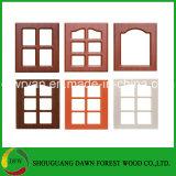 Kitchen Cabinet Parts Cabinet Door PVC Film MDF Core Kitchen Cabinet Door
