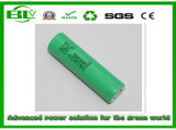 2500mAh 3.7V High Rate 25AMP Li-ion Battery with Samsung Inr18650-25r