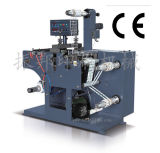 Rotary Die-Cutting and Slitting Machine with Two Rewinding