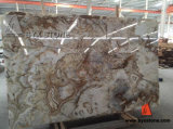 Beautiful White Onyx Slab for Wall and Floor Tile