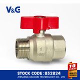 Brass Ball Valve with Butterfly Handle (VG10.99761)