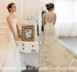 Exquisite Bridal Gowns V-Back Mermaid Lace Wedding Dresses Y2046