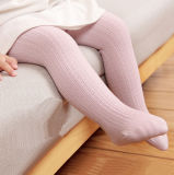 Baby′s Cotton Cable Cotton Tights (TA609)