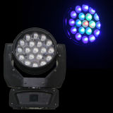 LED RGBW Wash Zoom Moving Head Light