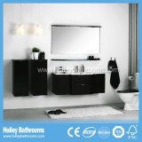 High-Gloss Paint Multifunction Dual Master Cabinet Bathroom Set (PF128c)