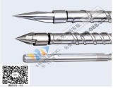 PP PE Hard Chrome Coated Injection Molding Machine Screw Barrel