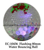 Flashing 80mm Water Bouncing Ball