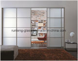 10mm Toughended Flat Acid Etched Glass for Doors and Windows