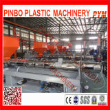 Single Screw Waste Plastic Recycling Line