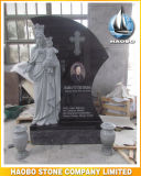 Granite Blessed Virgin Mary Statue Monument