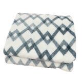 100% Polyester Cationic Jacquard Flannel Fleece Blanket