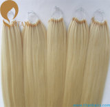Blond Pre Bonded Cotton String Human Hair Extension