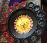 16 Shot Roulette Drinking Game Set. Drinking Chess Set, Drinking Roulette Set