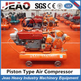 2017 Cheaper Price V-Belt & Clutch Jack Hammer Piston Air Compressor for Zimbabwe Mine