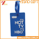 Customized Soft Rubber PVC Luggage Tag for Travel