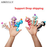 Hot Selling Cute Interesting Finger Toy Interactive Fingerling Baby Monkey as Christmas Children Gift