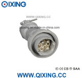 Qixing Large AMP Plug & Socket 250A 4p 380V-690V 6h