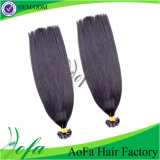 Wholesale U-Tip 100% Unprocessed Brazilian Virgin Remy Human Hair Extension