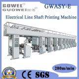 Automatic High Speed Electrical Shaft Color Printing Machine (GWASY-E)