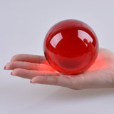 Red Color Crystal Glass Colored Crystal Ball 40mm, 50mm, 60mm,