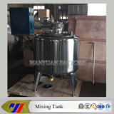 Stainless Steel Heating Mixing Tank with Scraper Agitator