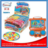 Plastic TV Show Water Game Toy with Candy