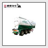 Air Compressor Bulk Cement Semi Trailer