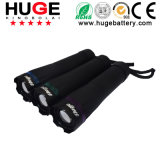 1W Portable Ledcamping Flashlight with 2pieces D Size Dry Battery