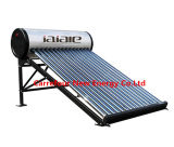 Unpressurized Solar Water Heating System for Home Using