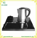 Hotel Electric Stainless Steel Kettle with Melamine Tray Sets