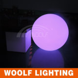 LED Plastic Round Glowed Colored Decorative Balls
