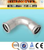 Dvgw 304 Stainless Steel Press Fittings Type a 45 Degree Elbow