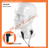 Security Surveillance Earpiece with Acoustic Tube for SL4000
