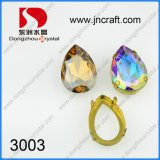 Teardrop Ab Color Point Back Crystal Stones Beads for Jewelry