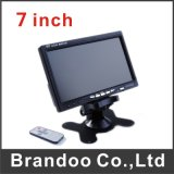 7 Inch Car LCD Monitor for Taxi and Bus Used
