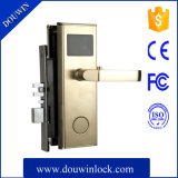 Hot Sale Hotel Door Lock MIFARE Card Type Brushed Zirconium