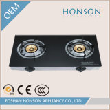 Wholesale Fashion Two Rings Glass Top Good Gas Stove Price