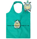 Foldable Shopping Bag with 3D Pouch, Animal Sheep Style, Reusable, Lightweight, Grocery Bags and Handy, Gifts, Promotion, Accessories & Decoration