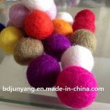 Colorful Chirstmas Ornament Wool Felt Ball 2cm 3cm 4cm