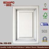 White Paint Decorative Wooden Kitchen Cabinet Door (GSP5-028)
