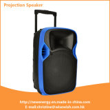 ODM 12 Inches Plastic Active Speaker with LED Projector